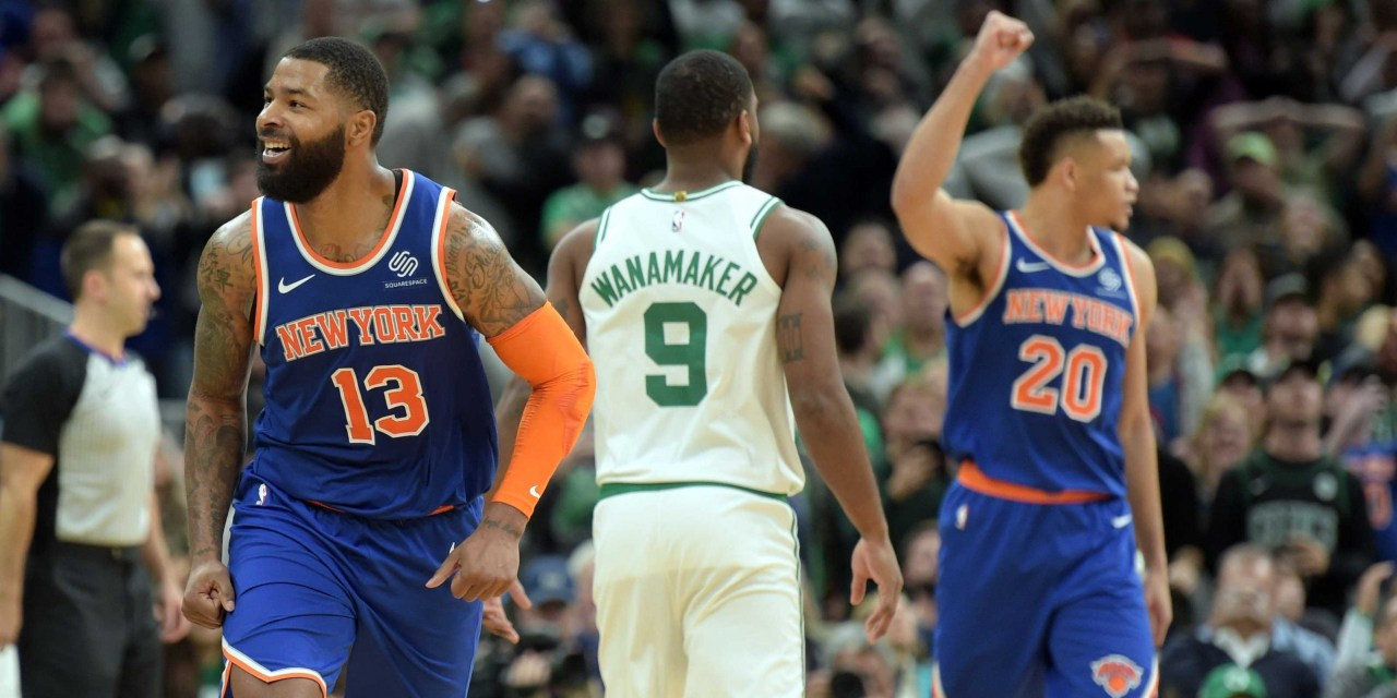 Knicks Hope to End Five-Game Losing Streak, Welcome the Celtics at Home