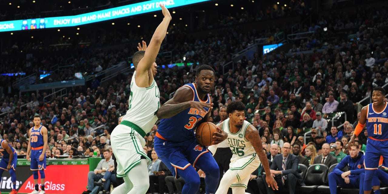 Jayson Tatum Downs Knicks With Game-Winner in Boston