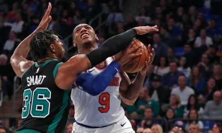 Frank Ntilikina Starts as Knicks Face Celtics in Beantown