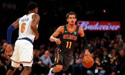 Trae Young Drops 40 in Feel-Good Knicks Blowout Home Win