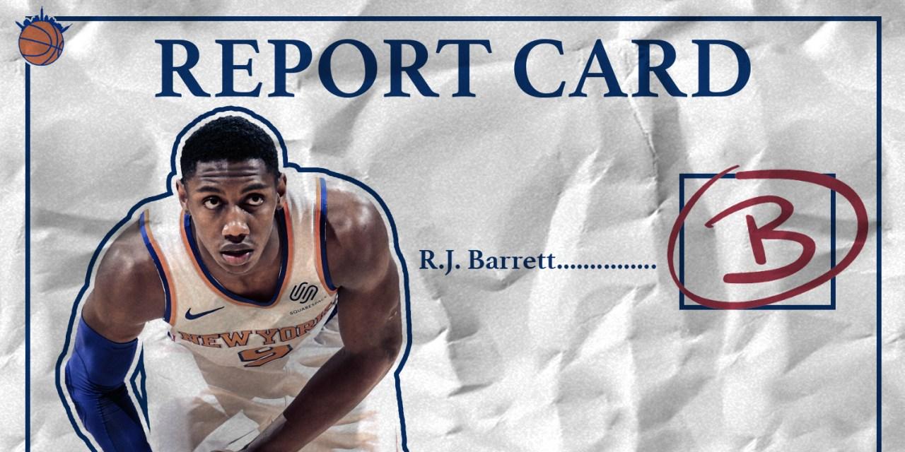 New York Knicks: Midseason Report Cards and Grades