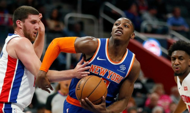 Knicks Battle New-Look Pistons, Seek Fourth Straight Win