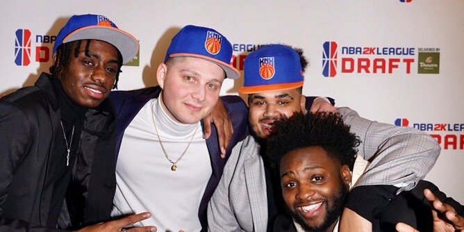 Knicks Gaming Kick Off Rebuild At NBA 2K League Draft, Select Duck With Second Overall Pick