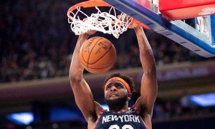 Mitchell Robinson's Career Night Propels Knicks Amid Minutes Critique