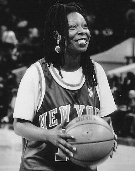 Whoopi Goldberg, Eddie, Knicks
