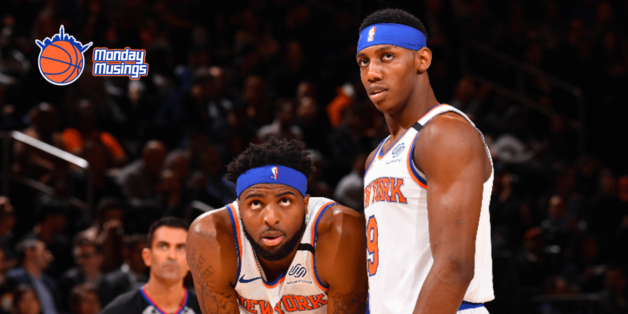 Monday Musings: The NBA May Be Back, But Not the Knicks