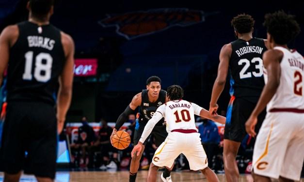 Immanuel Quickley, Defense Hand Knicks Home Win Over Cavs