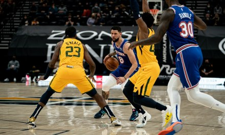 Second Half Collapse Ruins Knicks' Last West Coast Stop Against Jazz