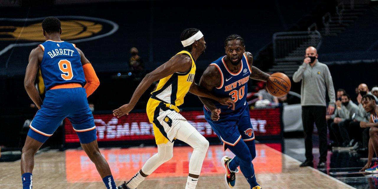 The Knicks Wall Podcast: Progress Reports on RJ Barrett, Julius Randle and More