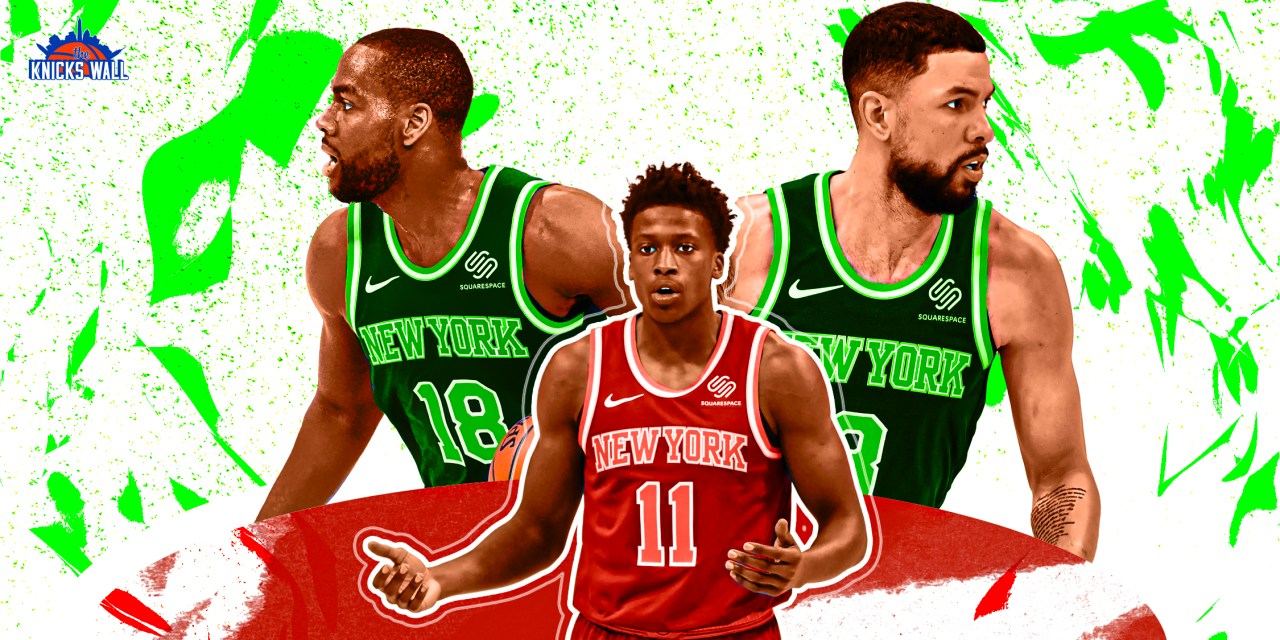How Knicks' Veteran Wing Rotation Hurts and Helps Team Development