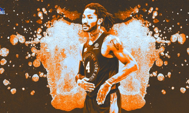 Derrick Rose Is Having No Issue Meshing With These Knicks