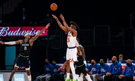 Wolves Host Knicks With New Winning Streak on the Line for the 'Bockers