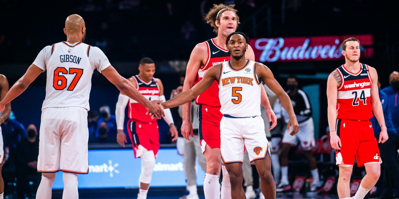Alec Burks, Knicks Pull Off Unlikely Comeback Win, Sweep Wizards