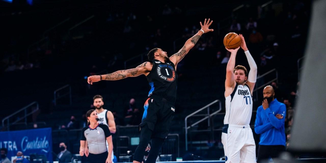Knicks Seek Fifth Straight Win as They Face Luka Doncic, Mavericks