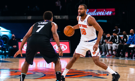 Alec Burks Enters COVID-19 Protocols as Knicks Start to Peak