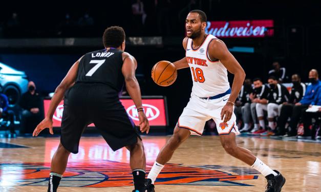 Alec Burks Enters COVID-19 Protocols as Knicks Start to Peak