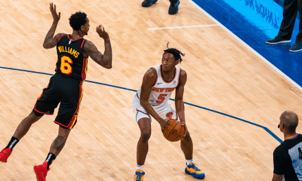 Julius Randle Guides Knicks to Eighth Straight Victory Over Hawks (OT)