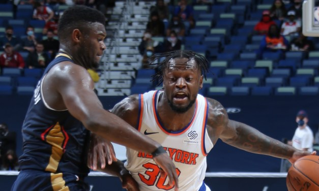Knicks Ride Five-Game Winning Streak Into Rematch With Pelicans