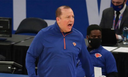 Tom Thibodeau Looking Ahead to Playoffs After Knicks Clinch