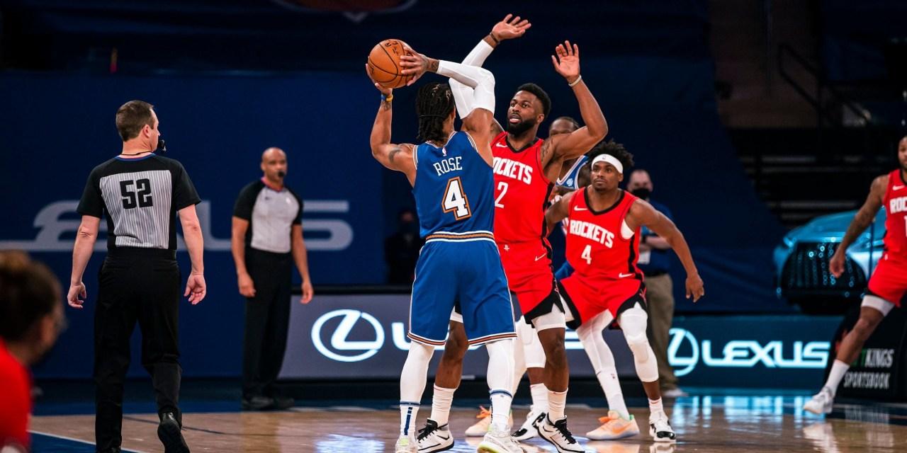 Knicks Kick Off Final Road Trip of the Season Against Rebuilding Rockets
