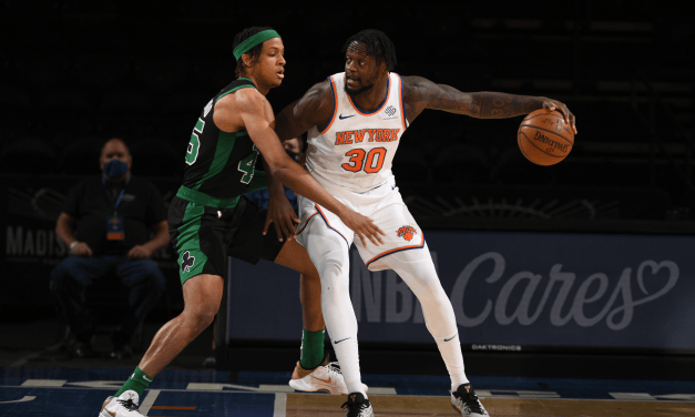 Knicks Defeat Celtics, Clinch Fourth Seed in the Playoffs