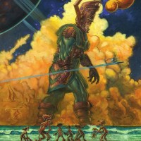 Comic Art (5): Galactus and NC Wyeth