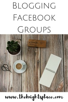 Blogging Facebook Groups