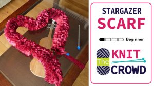 Star Gazer Knit Scarf