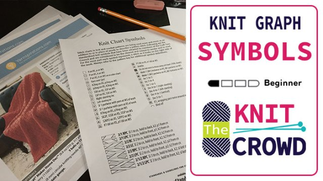 Knitting Symbols - The Knit Crowd
