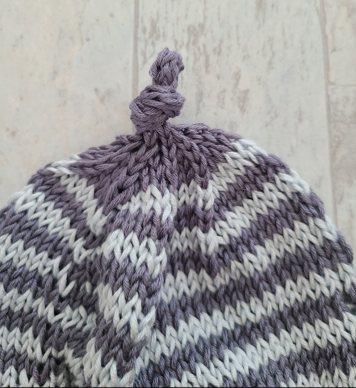 Knitting An I-Cord On A Hat