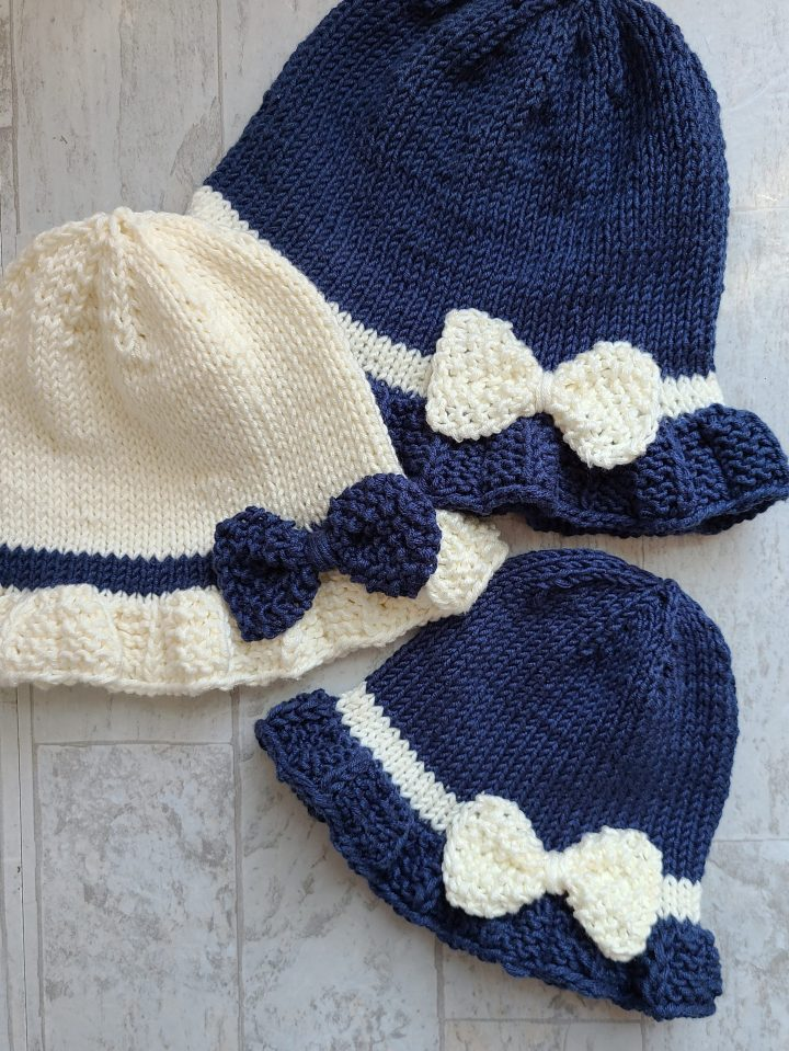 Day In The Park Cloche: Pattern Update and Adding a Bow To Your Cloche