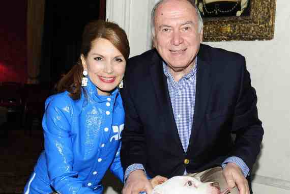 """Jean Shafiroff, Martin Shafiroff== Martin and Jean Shafiroff host """"Beat the January Blues"""" Cocktails for Southampton Animal Shelter == Private Residence, NYC== Januaray 23, 2018== ©Patrick McMullan== Photo - Paul Bruinooge/PatrickMcMullan.com== =="""