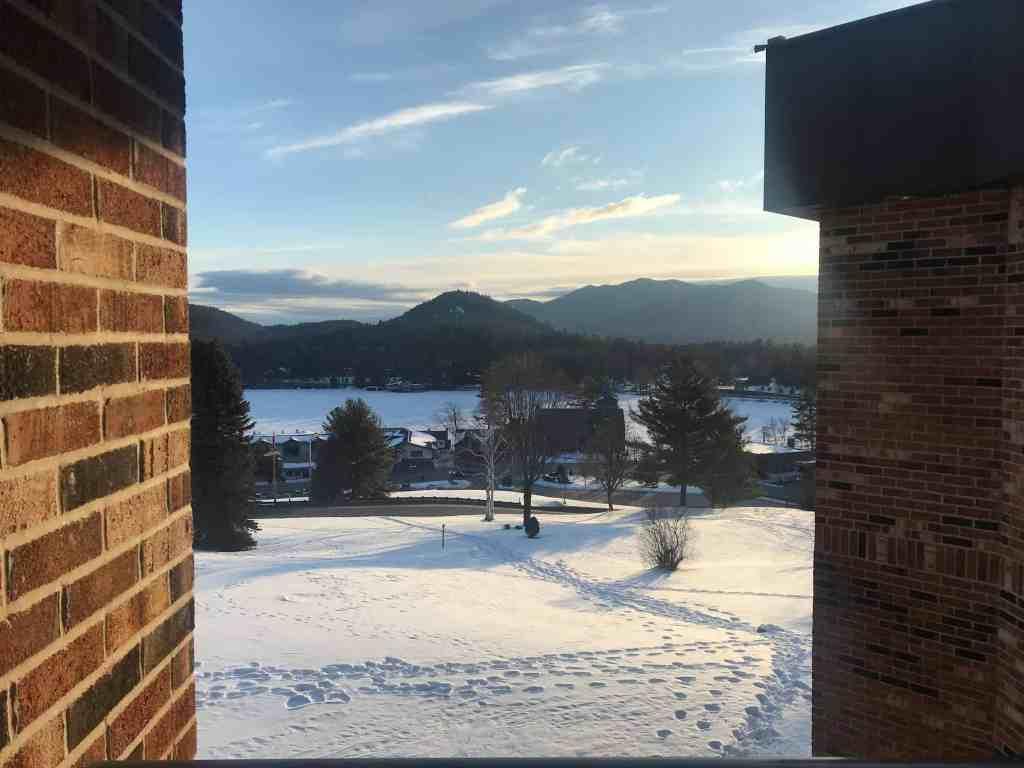 Morning in Lake Placid, NY