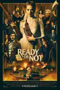 The Poster for the film Ready or Not