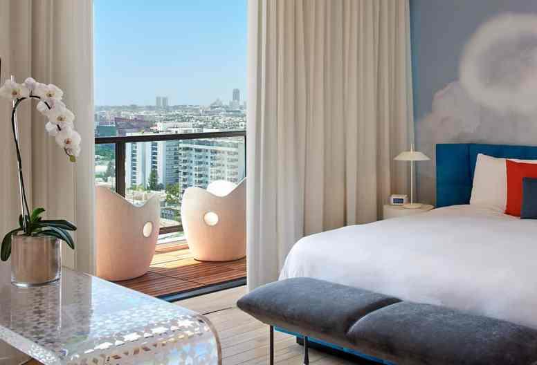 The Skyloft at Mondrian Los Angeles