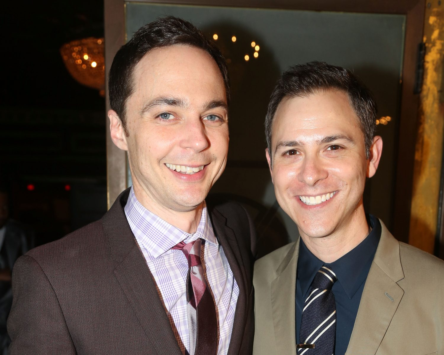 Big Bang Theory's Jim Parsons Marries Todd Spiewak: First