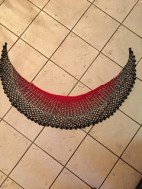 dsmcg's Dragonfruit Shawl with a modified edging