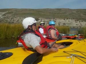 July 31 & Aug 22/18 – Kayaking Milk River