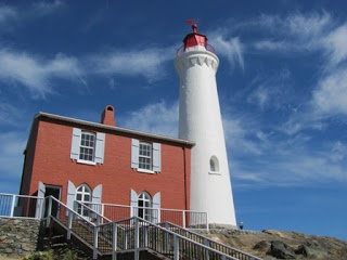 Fisgard Lighthouse in VIctoria, BC (one of our favourite BC historic sites)