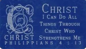 Three Favourite Scripture Verses
