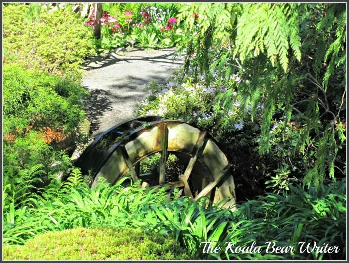 Hatley Castle Water Wheel