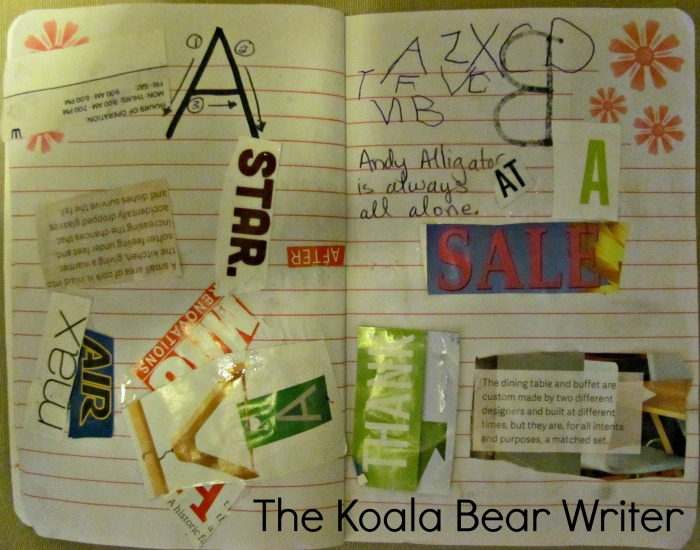 Letter A Collage