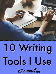 10 Writing Tools I Use