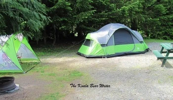 Tent at Rondalyn Resort