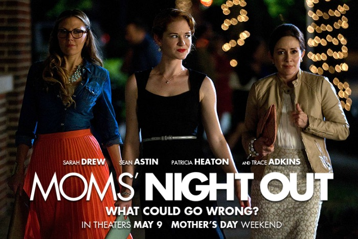 Moms' Night Out movie - three moms heading out for the evening