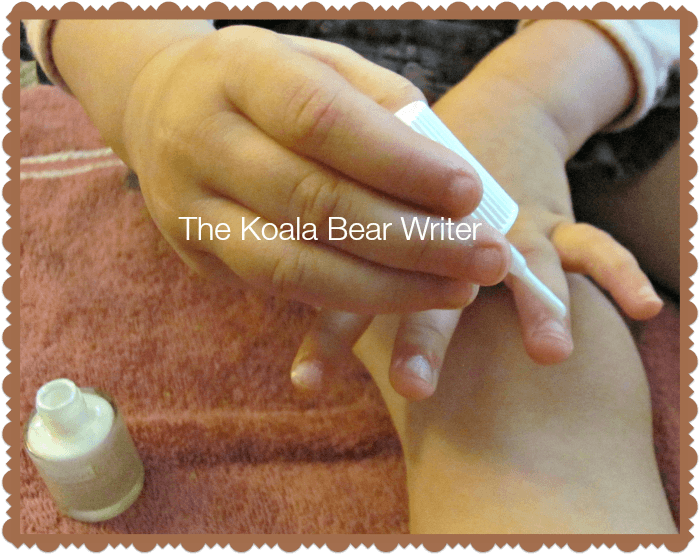 Painting Our Nails With Suncoat Girl Nail Polish The Koala Mom
