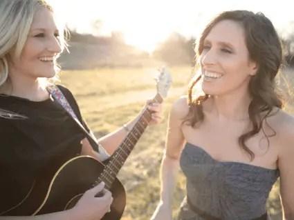 Edie Carey and Sarah Sample