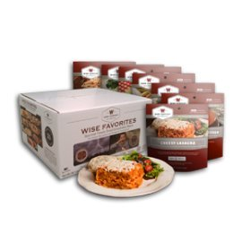 Wise Company offers delicious, high-quality freeze-dried foods, made in minutes with only boiling water, perfect for emergency meals or camping trips.