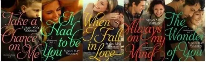 Susan May Warren's Christiansen family novels