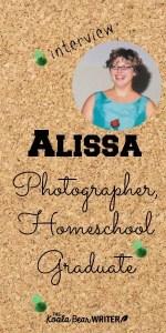 Homeschool Interview: Alissa Bjorn, Photographer